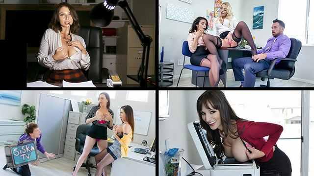 Dana Dearmond, Bridgette B, Adrian Hush, Ariella Ferrera - Naughty Company Bonus