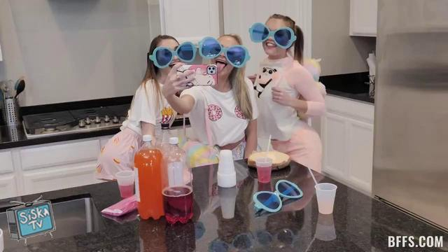 Sera Ryder, Emma Hix, Katie Kush - Slumber Party Shenannigans